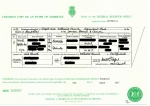 UK Marriage Certificate